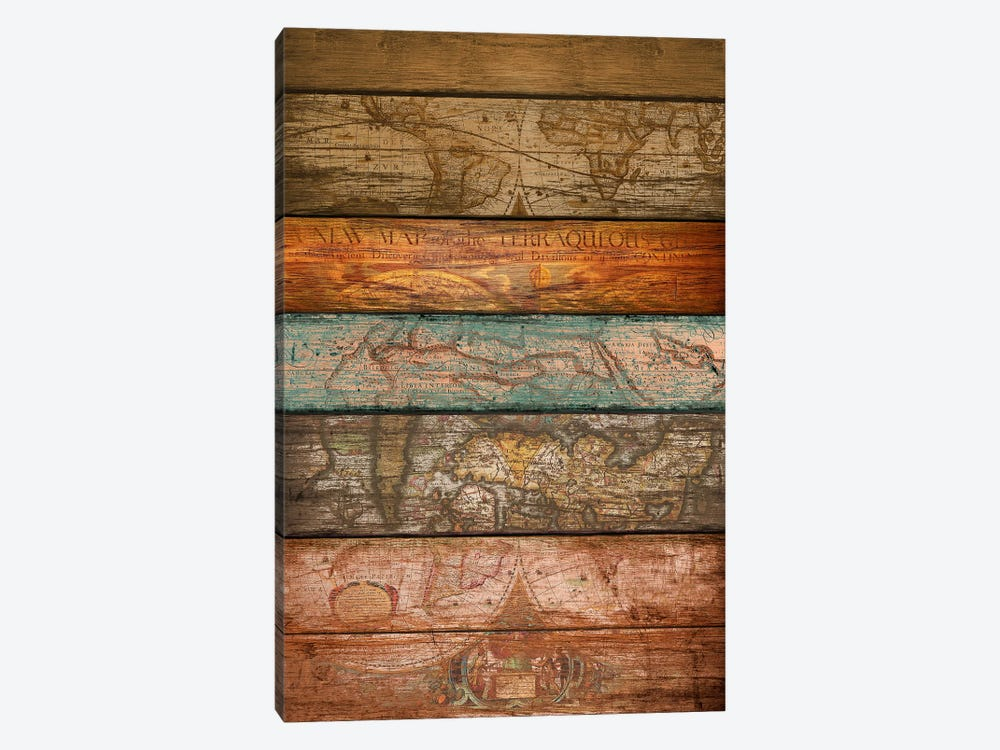 Mapas by Diego Tirigall 1-piece Canvas Art