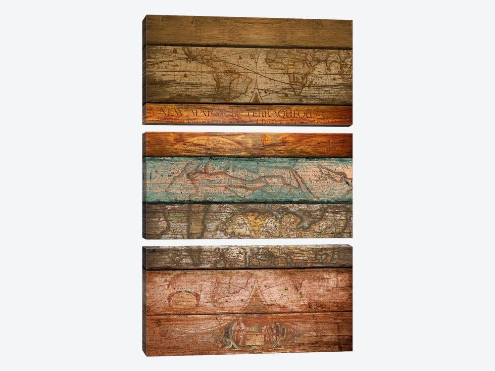 Mapas by Diego Tirigall 3-piece Canvas Art