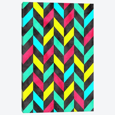 Psychedelic Chevron Canvas Print #MXS67} by Diego Tirigall Canvas Art