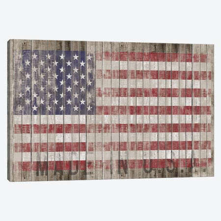 American Flag I Canvas Print #MXS77} by Diego Tirigall Canvas Art Print