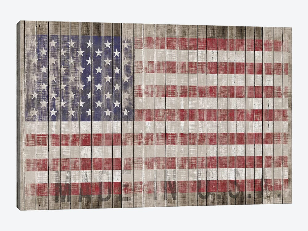 American Flag I by Diego Tirigall 1-piece Canvas Art Print
