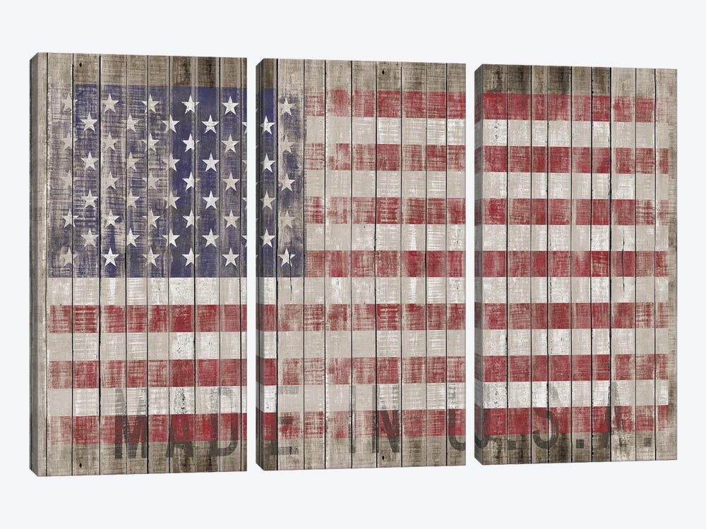 American Flag I 3-piece Art Print