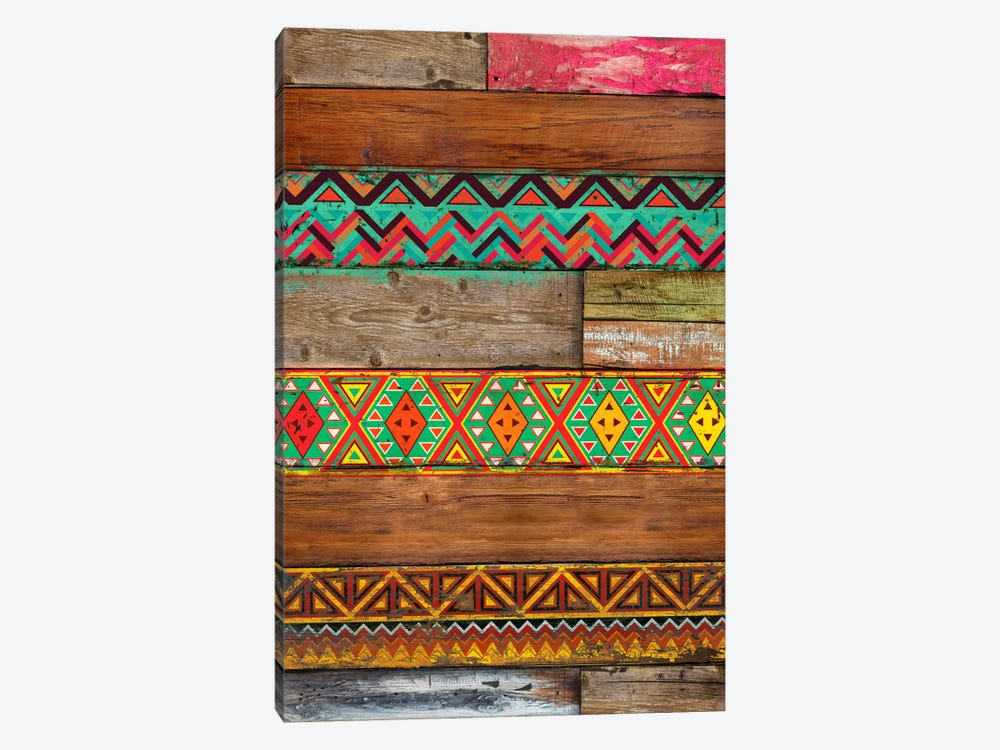 Indian Wood by Diego Tirigall 1-piece Canvas Wall Art