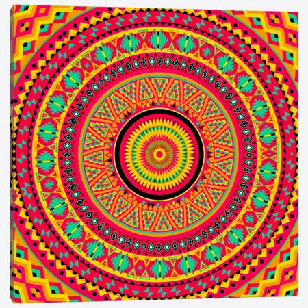 Indian Mandala Canvas Print #MXS83} by Diego Tirigall Art Print