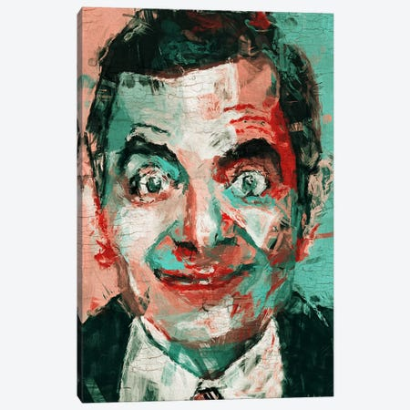 Mr Bean Canvas Print #MXS87} by Diego Tirigall Canvas Wall Art