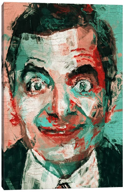 Mr. Bean Canvas Art Print