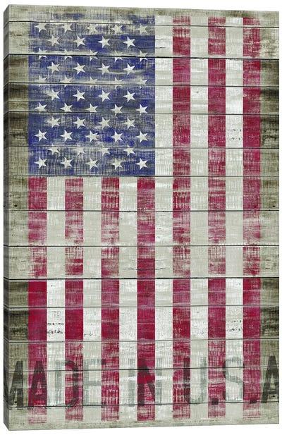 American Flag II Canvas Print #MXS98