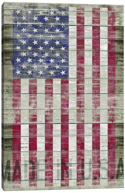 American Flag II Canvas Art Print