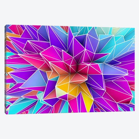 Kaos Pop Canvas Print #MXS9} by Diego Tirigall Canvas Wall Art