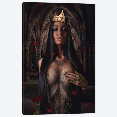 St. Angelina Canvas Print #MXT14} by Max Twain Canvas Art