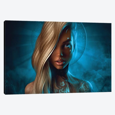 St. Barbie Canvas Print #MXT18} by Max Twain Art Print