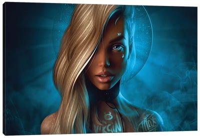 St. Barbie Canvas Art Print