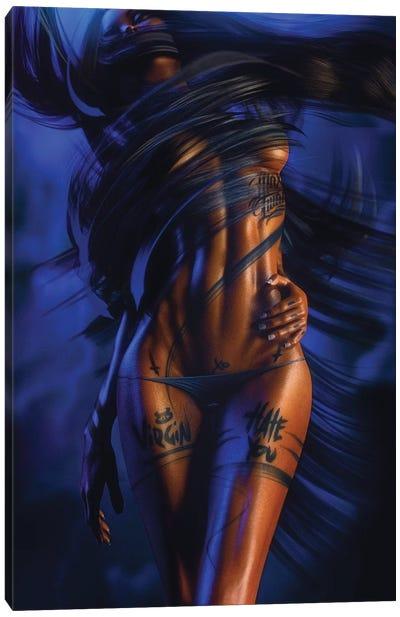 Virgin XO Canvas Art Print
