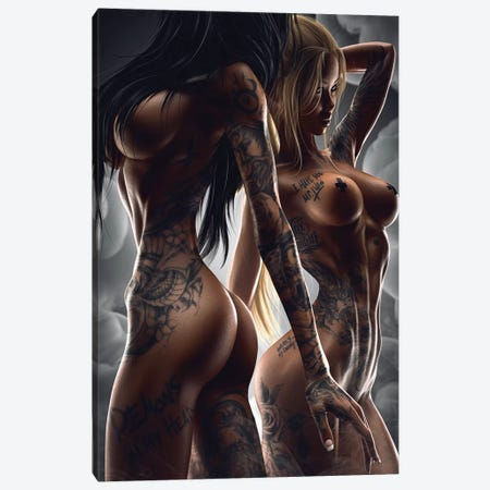 El Cartel II Canvas Print #MXT6} by Max Twain Canvas Art