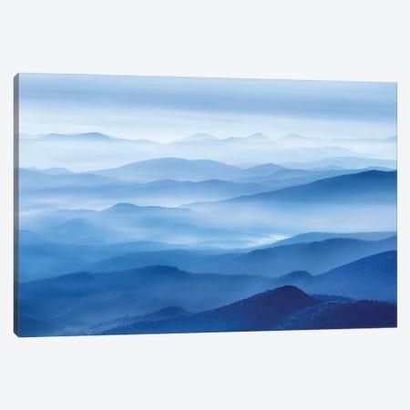 Rhythm Of Mountains Canvas Print #MXU5} by Mei Xu Canvas Print