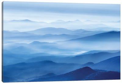 Rhythm Of Mountains Canvas Art Print