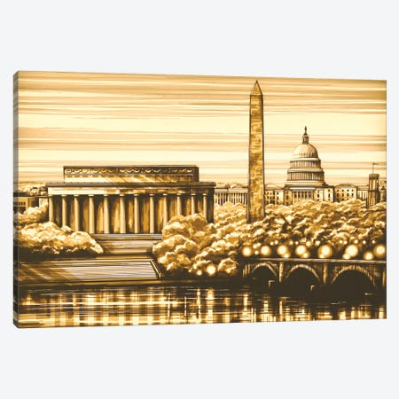 Washington Canvas Print #MXZ10} by Max Zorn Art Print