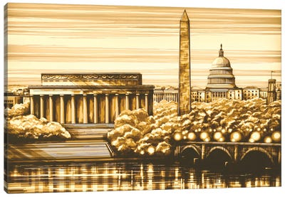 Washington Canvas Art Print