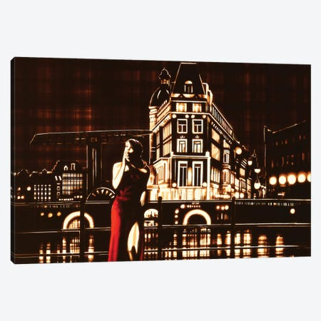 My Night, My Town Canvas Print #MXZ12} by Max Zorn Canvas Print