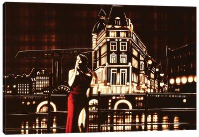 My Night, My Town Canvas Art Print