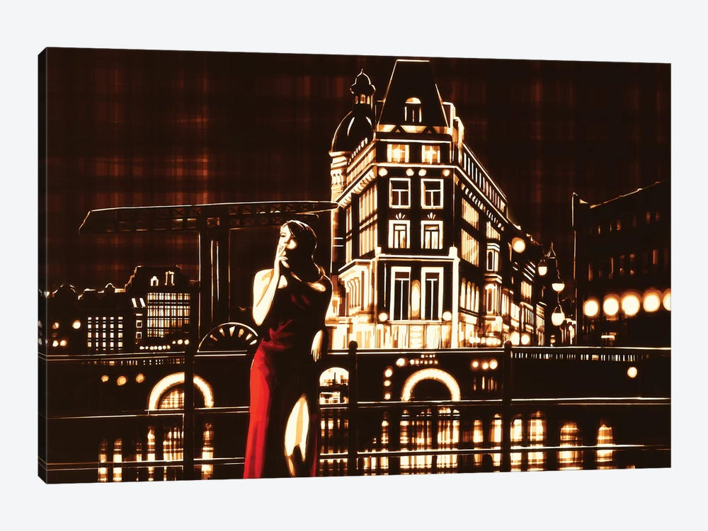 My Night, My Town by Max Zorn 1-piece Canvas Art