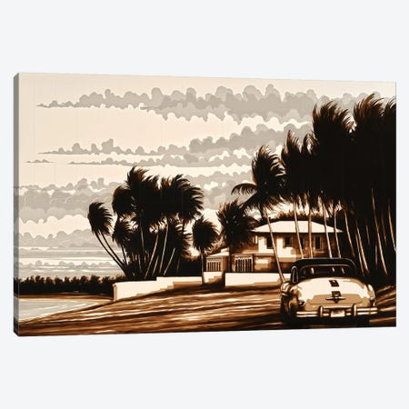 Beach Day Canvas Print #MXZ1} by Max Zorn Canvas Print