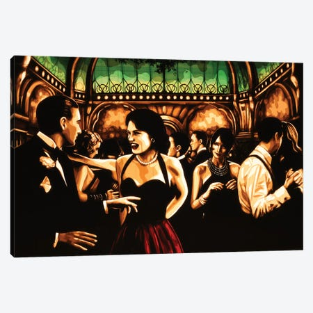 Glances Canvas Print #MXZ4} by Max Zorn Canvas Artwork