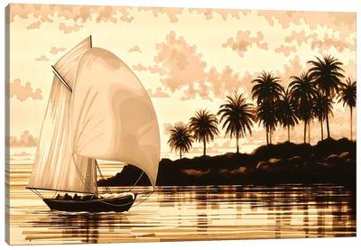 Sail Canvas Art Print