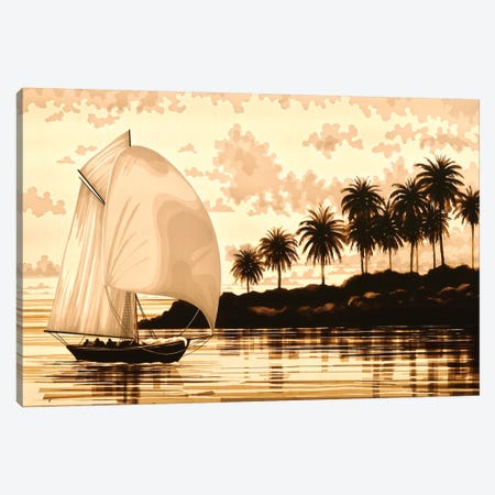 Sail Canvas Print #MXZ7} by Max Zorn Canvas Art