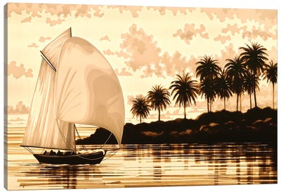 Sail Canvas Art Print
