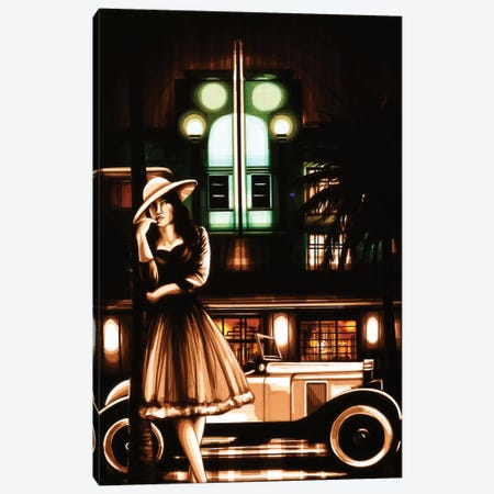 South Beach Nights Canvas Print #MXZ8} by Max Zorn Canvas Print