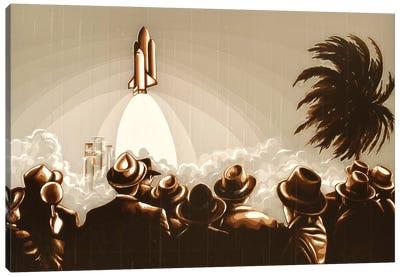 Space Shuttle Canvas Art Print