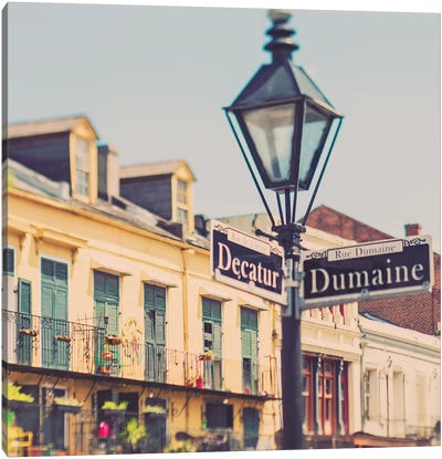 Rue de la Levee Canvas Art Print