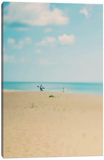 Silent Observer Canvas Art Print