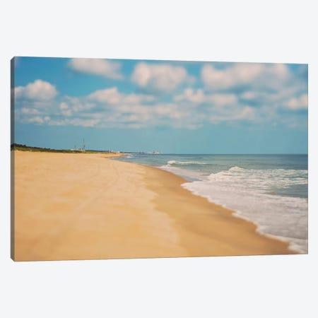 Virginia Beach Canvas Print #MYA18} by Myan Soffia Art Print