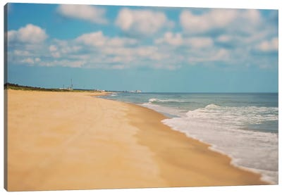 Virginia Beach Canvas Art Print