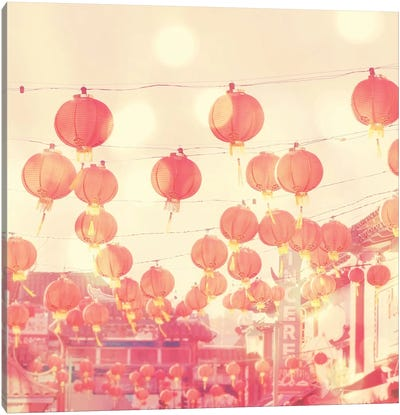 Chinatown Canvas Art Print
