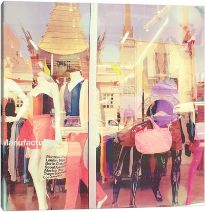Fashionista Canvas Print #MYA3