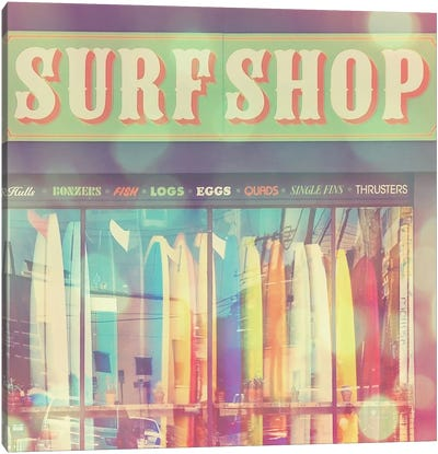 Seaside Summer Canvas Art Print