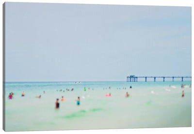 Dreams of The Gulf Coast Canvas Art Print