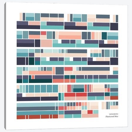 Fleetwood Mac - Songbird Canvas Print #MYB16} by Macy Burr Art Print