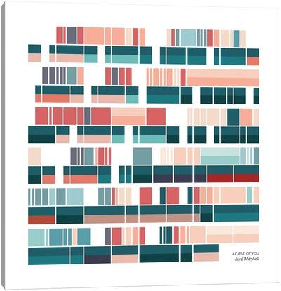 Joni Mitchell - A Case of You Canvas Art Print
