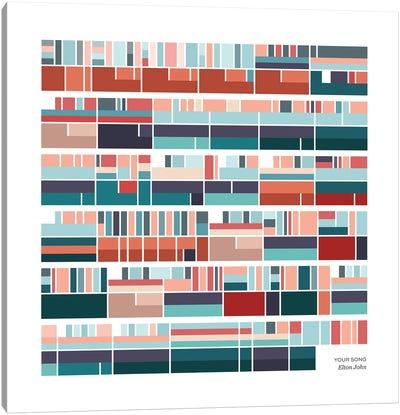 Elton John - Your Song Canvas Art Print
