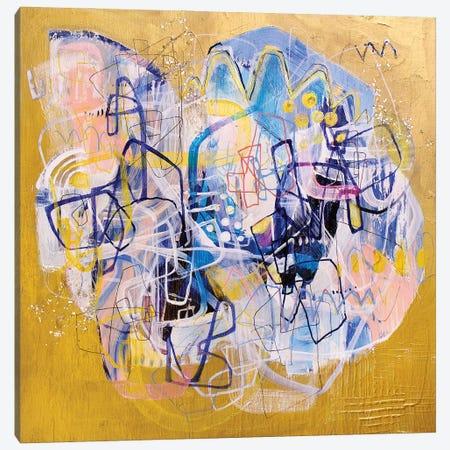Push Canvas Print #MYC12} by Mandy Yocom Art Print