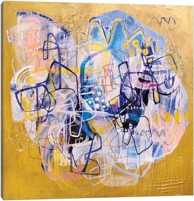 Push Canvas Art Print