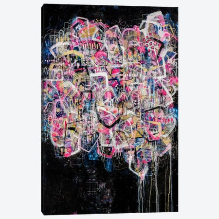 Keep Pushing Canvas Print #MYC22} by Mandy Yocom Canvas Art