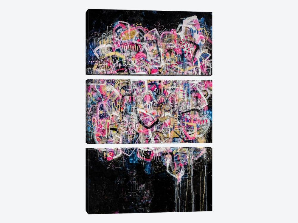 Keep Pushing by Mandy Yocom 3-piece Canvas Wall Art