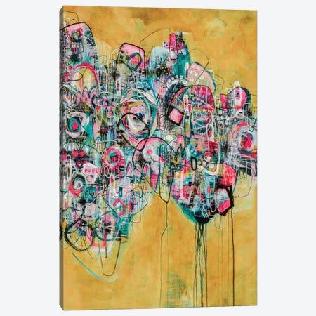 I'm Rich, Bitch Canvas Print #MYC23} by Mandy Yocom Canvas Art