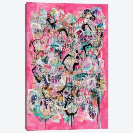 Happy Hour Canvas Print #MYC24} by Mandy Yocom Canvas Art Print