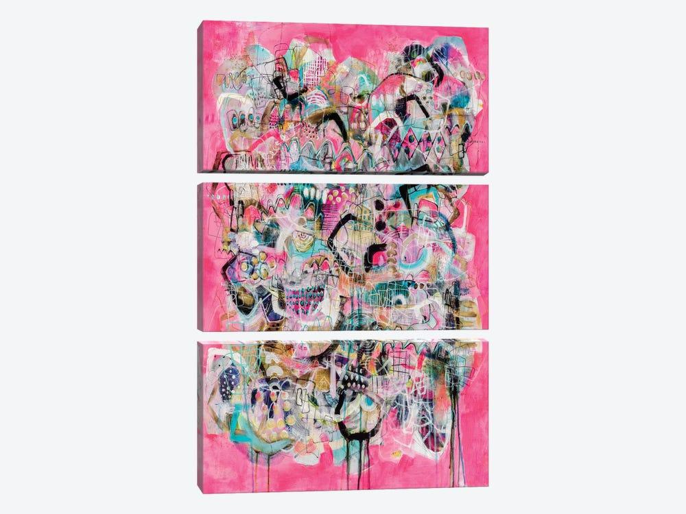 Happy Hour by Mandy Yocom 3-piece Canvas Wall Art